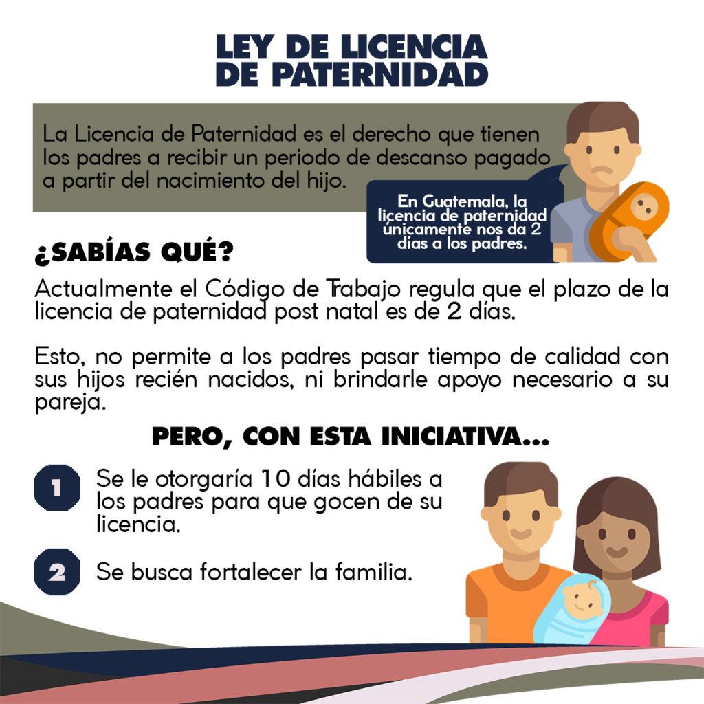 Licencia paternidad