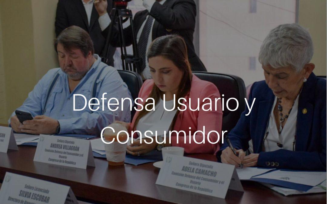 Informe de la Comisión de Defensa del Usuario y Consumidor 2020