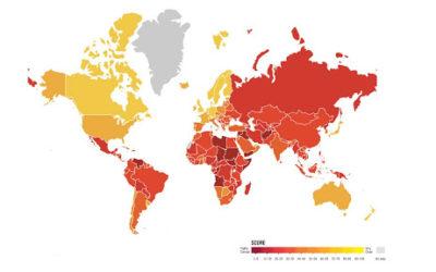 Infografía: Índice de Percepción de la Corrupción 2019