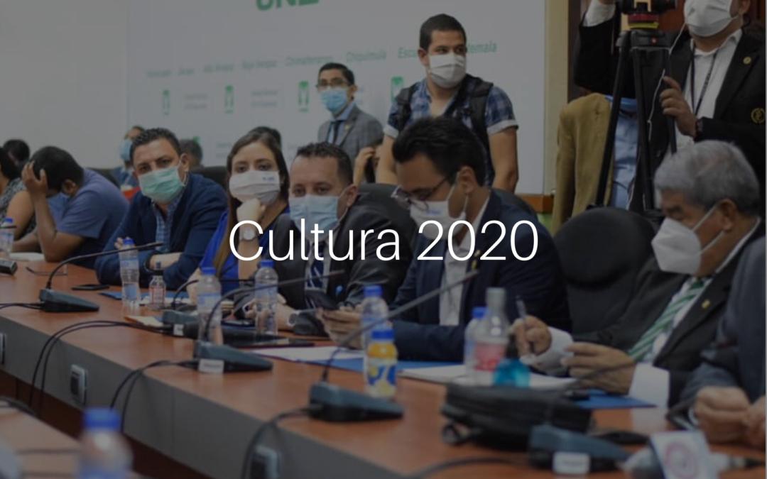 Comisión de Cultura 2020