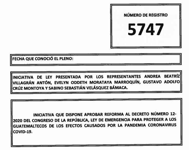 Iniciativa 5747