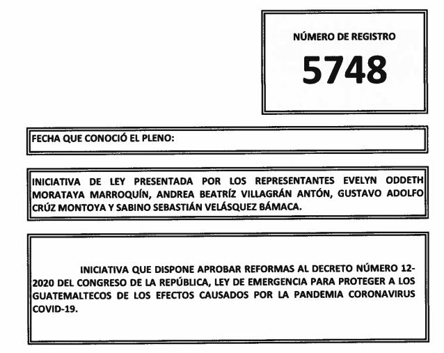 Iniciativa 5748